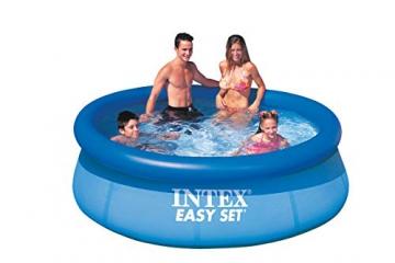 Intex Easy Set Pool - Aufstellpool - Ø 244 x 76 cm - Mit Filteranlage - 4
