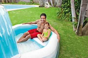 Intex Family Lounge Pool Schwimmbad aufblasbar Familienpool 310x188x130cm 57198 - 4