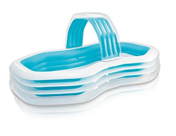 Intex Family Lounge Pool Schwimmbad aufblasbar Familienpool 310x188x130cm 57198 - 1