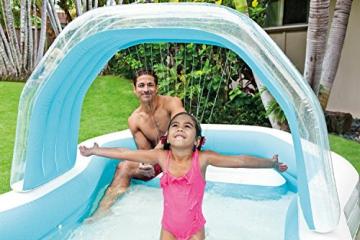 Intex Family Lounge Pool Schwimmbad aufblasbar Familienpool 310x188x130cm 57198 - 5
