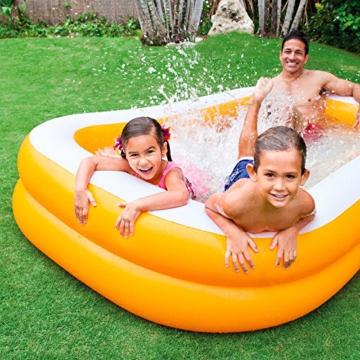 Intex Mandarin Swim Center Family Pool - Kinder Aufstellpool - Planschbecken - 229 x 147 x 46 cm - Für 3+ Jahre - 2