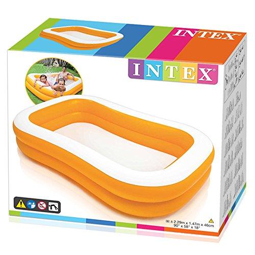 Intex Mandarin Swim Center Family Pool - Kinder Aufstellpool - Planschbecken - 229 x 147 x 46 cm - Für 3+ Jahre - 3