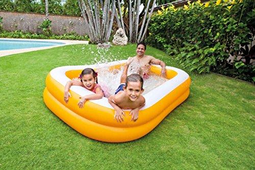 Intex Mandarin Swim Center Family Pool - Kinder Aufstellpool - Planschbecken - 229 x 147 x 46 cm - Für 3+ Jahre - 4