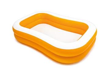 Intex Mandarin Swim Center Family Pool - Kinder Aufstellpool - Planschbecken - 229 x 147 x 46 cm - Für 3+ Jahre - 1