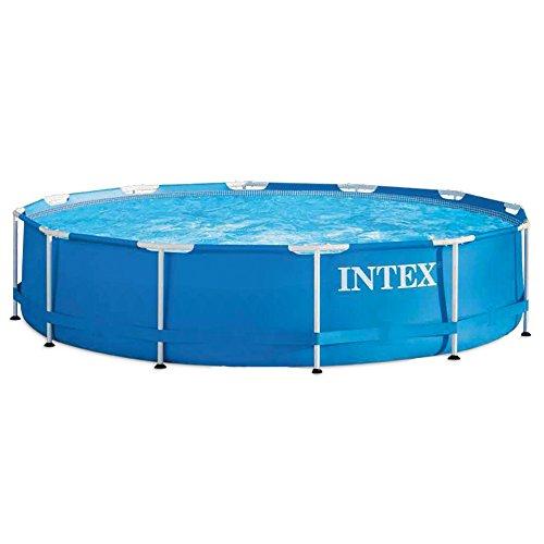 Intex Metal Frame Pool - Aufstellpool -  Ø 366 x 76 cm - 1