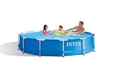 Intex Metal Frame Pool - Aufstellpool -  Ø 366 x 76 cm - 2