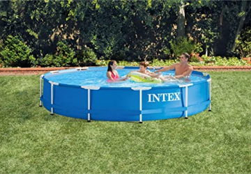 Intex Metal Frame Pool - Aufstellpool -  Ø 366 x 76 cm - 6