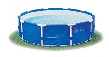 Intex Metal Frame Pool - Aufstellpool -  Ø 366 x 76 cm - Mit Filteranlage - 12V - 3