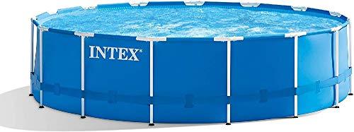 Intex Metal Frame Pool Set - Aufstellpool - Ø 457 x 122 cm - Zubehör enthalten - 1