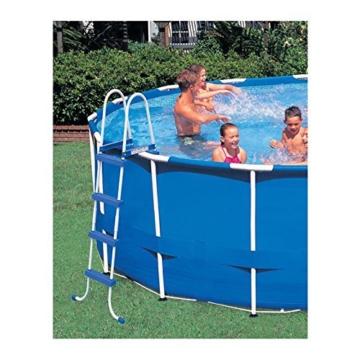Intex Metal Frame Pool Set - Aufstellpool - Ø 457 x 122 cm - Zubehör enthalten - 6