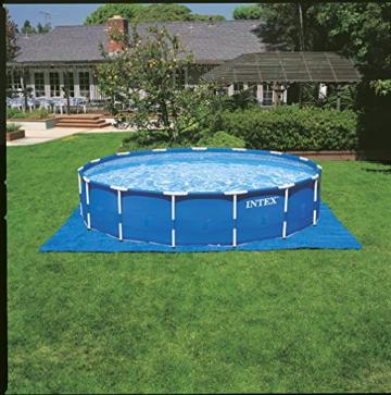 Intex Metal Frame Pool Set - Aufstellpool - Ø 457 x 122 cm - Zubehör enthalten - 7