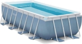 Intex Prism Quadra Frame Pool Set, 10874 liters, Blau, 488 x 244 x 107 cm - 1