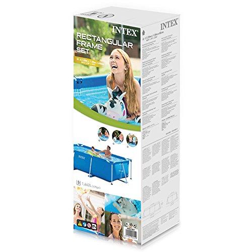 Intex Rectangular Frame Pool - Aufstellpool - 220 x 150 x 60 cm - 3