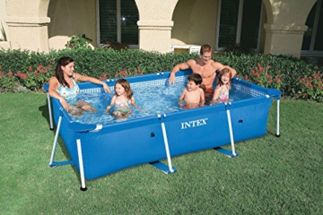 Intex Rectangular Frame Pool - Aufstellpool - 220 x 150 x 60 cm - 6