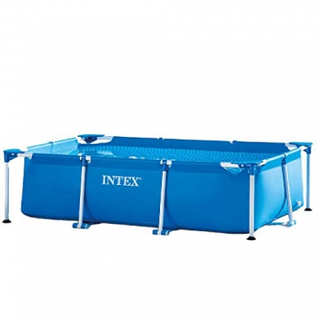 Intex Rectangular Frame Pool - Aufstellpool - 260 x 160 x 65 cm - 1