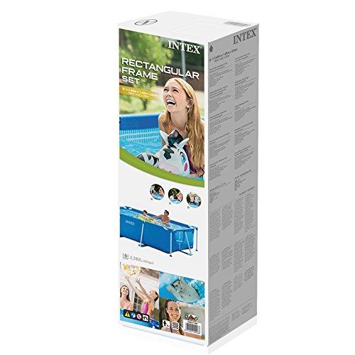 Intex Rectangular Frame Pool - Aufstellpool - 260 x 160 x 65 cm - 2