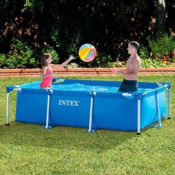 Intex Rectangular Frame Pool - Aufstellpool - 260 x 160 x 65 cm - 3