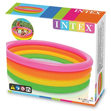 Intex Sunset Glow Pool - Kinder Aufstellpool - Planschbecken - Ø 168 x 46 cm - Für 3+ Jahre - 5
