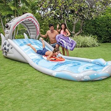 Intex Surf 'N Slide - Kinder Aufstellpool - Planschbecken - 442 x 168 x 163 cm -  Für 6+ Jahre - 2