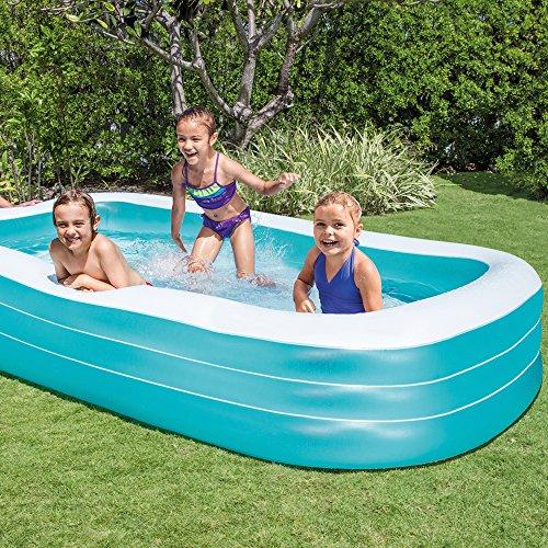 Intex Swim Center Family Pool - Kinder Aufstellpool - Planschbecken - 305 x 183 x 56 cm - Für 6+ Jahre - 2