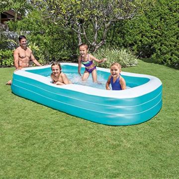 Intex Swim Center Family Pool - Kinder Aufstellpool - Planschbecken - 305 x 183 x 56 cm - Für 6+ Jahre - 4