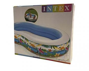 Intex Swim Center Seashore Pool - Kinder Aufstellpool - Planschbecken - 262 x 160 x 46 cm - Für 3+ Jahre - 5