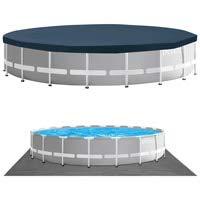 Intex Swimming Ø 610 x 132 cm Pool Frame Pool Set Prism Rondo 26756 - 7