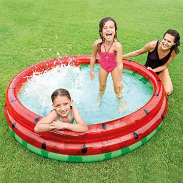 Intex Watermelon Aufblasbarer Pool, Multi Color - 4