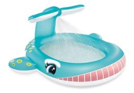 Intex Whale Spray Baby Pool, Multi Color - 1
