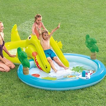 Intex–Zentrum von Spiele Wasserpark mit Rutsche–180Pool und 132Liter (57164) - 2