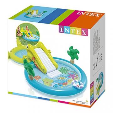 Intex–Zentrum von Spiele Wasserpark mit Rutsche–180Pool und 132Liter (57164) - 5