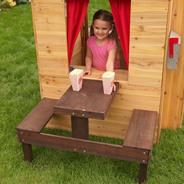 KidKraft 182 Modernes Outdoor Garten-Spielhaus aus Holz für Kinder mit Spielküche und weiterem Zubehör - 11