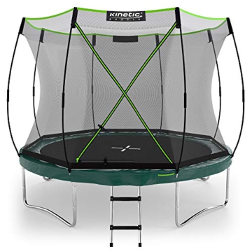 Kinetic Sports Gartentrampolin TBSE1000, 305 cm, grün - 1