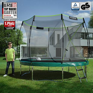 Kinetic Sports Gartentrampolin TBSE1000, 305 cm, grün - 2