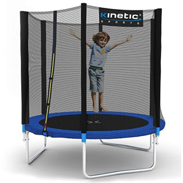 Kinetic Sports Gartentrampolin TPLH06 (Ø 183 cm, blau) - 1