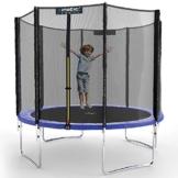 Kinetic Sports Gartentrampolin TPLH09 (Ø 275 cm, blau) - 1