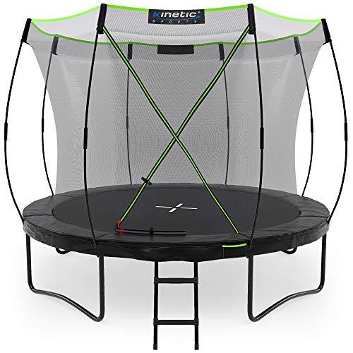 Kinetic Sports Gartentrampolin TUP1000, 305 cm, Black - 1