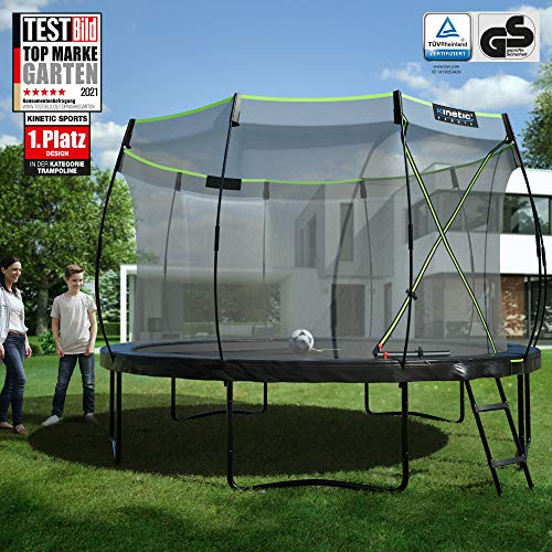 Kinetic Sports Gartentrampolin TUP1200, 366 cm, Black - 2