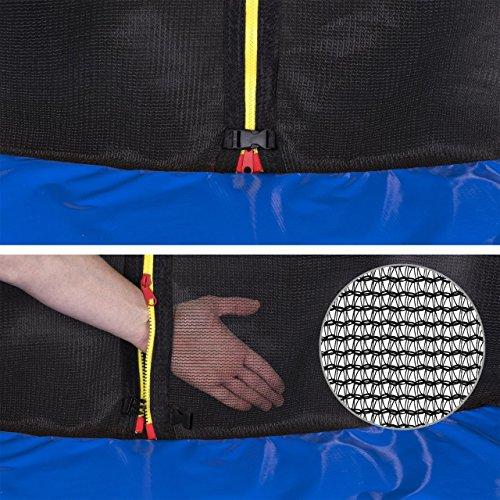 Kinetic Sports Outdoor Trampolin TPLH14 Gartentrampolin für Kinder und Erwachsene mit Randabdeckung und Sicherheitsnetz Ø 430 cm - 5