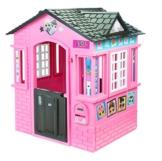 little tikes 650420M Kinder Spielhaus mit Glitzer im L.O.L. Surprise! Design - mit Fenstern und Türen, ideal für drinnen und draußen, extra robust und wetterfest, pink - 1