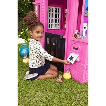 little tikes 650420M Kinder Spielhaus mit Glitzer im L.O.L. Surprise! Design - mit Fenstern und Türen, ideal für drinnen und draußen, extra robust und wetterfest, pink - 4