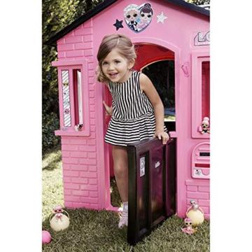 little tikes 650420M Kinder Spielhaus mit Glitzer im L.O.L. Surprise! Design - mit Fenstern und Türen, ideal für drinnen und draußen, extra robust und wetterfest, pink - 6