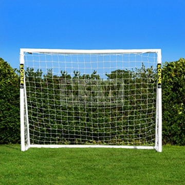 Net World Sports Forza - 2,4 x 1,8 m wetterfestes Fußballtor Abnehmbarer Torwand bestellbar (Forzator 2.4x1.8m) - 2
