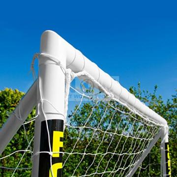 Net World Sports Forza - 2,4 x 1,8 m wetterfestes Fußballtor Abnehmbarer Torwand bestellbar (Forzator 2.4x1.8m) - 3