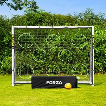 Net World Sports Forza - 2,4 x 1,8 m wetterfestes Fußballtor Abnehmbarer Torwand bestellbar (Forzator 2.4x1.8m) - 4