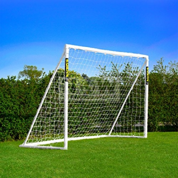 Net World Sports Forza - 2,4 x 1,8 m wetterfestes Fußballtor Abnehmbarer Torwand bestellbar (Forzator 2.4x1.8m) - 1