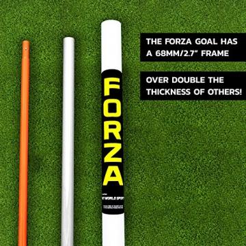 Net World Sports Forza - 2,4 x 1,8 m wetterfestes Fußballtor Abnehmbarer Torwand bestellbar (Forzator 2.4x1.8m) - 5