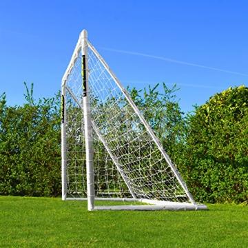 Net World Sports Forza - 2,4 x 1,8 m wetterfestes Fußballtor Abnehmbarer Torwand bestellbar (Forzator 2.4x1.8m) - 8
