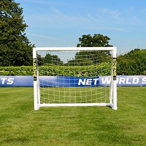 Net World Sports Forza Match Fußballtore - das Beste Tor bei jedem Wetter - 5 Größen (1,5m x 1,2m) - 2