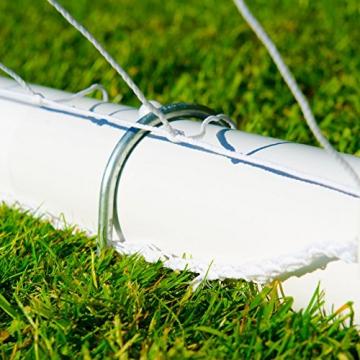 Net World Sports Forza Match Fußballtore - das Beste Tor bei jedem Wetter - 5 Größen (1,5m x 1,2m) - 8